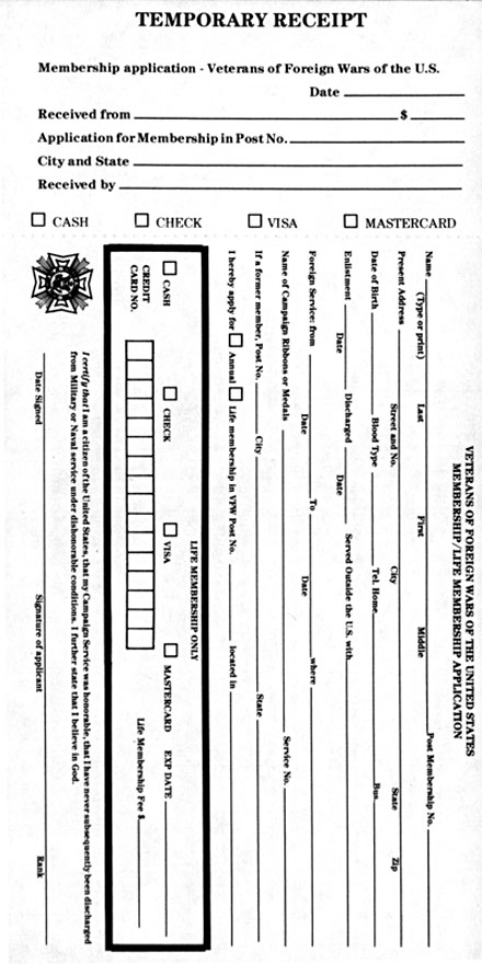vfwapplication Vfw Application Form Printable on printable brochures, blank new customer forms, printable fmla form, printable invoices, printable job application for ross, printable generic job application, printable bank statements, printable auto insurance application, printable chip application, printable employment application, printable scholarship applications, printable reports, printable job application for payless, printable credit application, printable application worksheets, printable job application for employers, printable rental application, contact us forms, printable application templates, printable fafsa application 2012 2013,